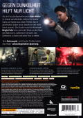 Alan Wake Xbox 360 Back Cover