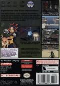 Pokémon XD: Gale of Darkness GameCube Back Cover