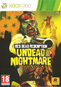 Red Dead Redemption: Undead Nightmare Xbox 360 Front Cover