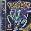 Pokémon Crystal Version Game Boy Color Front Cover