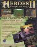 Heroes of Might and Magic II: The Price of Loyalty Windows Back Cover