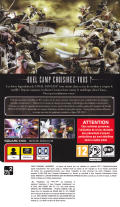 Dissidia: Final Fantasy (Limited Collector's Edition) PSP Other Keep Case - Back - Reversed