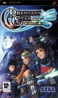 Phantasy Star Portable PSP Front Cover