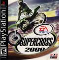 Supercross 2000 PlayStation Front Cover