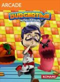 BurgerTime: World Tour Xbox 360 Front Cover