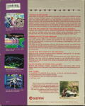 Space Quest II: Chapter II - Vohaul's Revenge DOS Back Cover