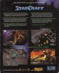 StarCraft Macintosh Back Cover