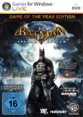 Batman: Arkham Asylum - Game of the Year Edition Windows Other Keep Case - Front