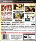 Call of Juarez: The Cartel  PlayStation 3 Back Cover