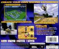 Moto Racer 2 PlayStation Back Cover