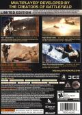 Medal of Honor (Limited Edition) Xbox 360 Back Cover