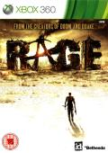 Rage Xbox 360 Front Cover