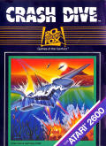 Crash Dive Atari 2600 Front Cover