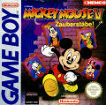 Mickey Mouse: Magic Wands! Game Boy Front Cover