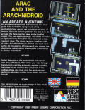 Spiderbot Commodore 64 Back Cover