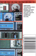 Hostage: Rescue Mission Commodore 64 Back Cover