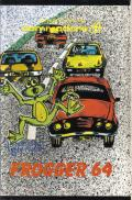 Frogger 64 Commodore 64 Front Cover