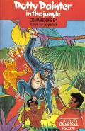 Potty Painter in the Jungle Commodore 64 Front Cover