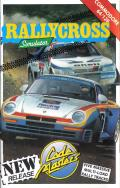 Rallycross Simulator Commodore 64 Front Cover