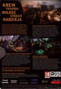 The Witcher 2: Assassins of Kings Windows Back Cover