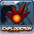 Explodemon! PlayStation 3 Front Cover