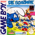 The Smurfs Game Boy Front Cover