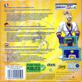 Earthworm Jim: Menace 2 the Galaxy Game Boy Color Back Cover
