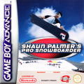 Shaun Palmer's Pro Snowboarder Game Boy Advance Front Cover