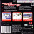 Shaun Palmer's Pro Snowboarder Game Boy Advance Back Cover
