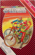 International Speedway Commodore 64 Front Cover