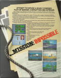 Mission: Impossible DOS Back Cover