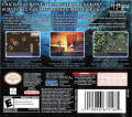 Mystery Dungeon: Shiren the Wanderer Nintendo DS Back Cover