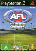 AFL Premiership 2005 PlayStation 2 Front Cover