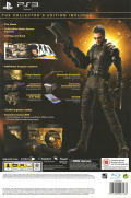 Deus Ex: Human Revolution (Collector's Edition) PlayStation 3 Back Cover
