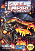 The Steel Empire Genesis Front Cover
