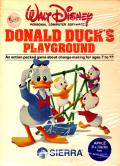 Donald Duck's Playground Apple II Front Cover
