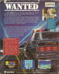 Police Quest 2: The Vengeance DOS Back Cover