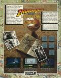 Indiana Jones and The Last Crusade: The Graphic Adventure Amiga Back Cover