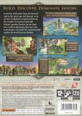 Sid Meier's Civilization: Revolution Xbox 360 Back Cover