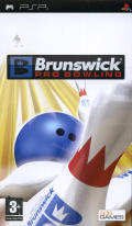 Brunswick Pro Bowling PSP Front Cover