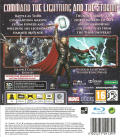 Thor: God of Thunder PlayStation 3 Back Cover