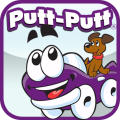 Putt-Putt Saves the Zoo iPad Front Cover Atari version