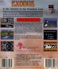 Exodus: Journey to the Promised Land DOS Back Cover