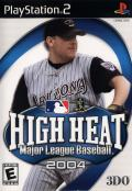 High Heat Major League Baseball 2004 PlayStation 2 Front Cover