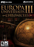 Europa Universalis III: Chronicles Windows Front Cover