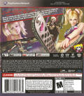 Lollipop Chainsaw PlayStation 3 Back Cover
