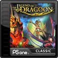 The Legend of Dragoon PlayStation 3 Front Cover