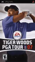 Tiger Woods PGA Tour 07 PSP Front Cover