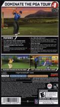 Tiger Woods PGA Tour 07 PSP Back Cover