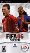 FIFA Soccer 06 PSP Front Cover